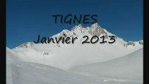 Snowboard à Tignes, vacances 2013, sur et hors-pistes