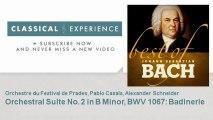 Johann Sebastian Bach : Orchestral Suite No. 2 in B Minor, BWV 1067: Badinerie