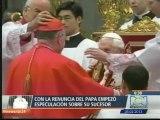 Se declara Sede Vacante en el Vaticano, Benedicto XVI ya no es el papa