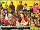 Utho Jago Pakistan With Sanam jung & Ahsan khan - 1st March 2013 - Part 1