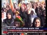 Armée kurde au kurdistan syrien assure la protection des régions kurdes contre les terroristes d'al qaida !