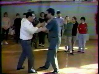 006 Tuishou JJS avec Maître Liu Jishun du style Wu – CHIN WOO Shanghai – 1992