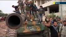 les terroristes d'al qaida attaque les kurdes en syrie - ces mercenaires terroristes veulent imposer leur charia wahhabite à toutes les communautés
