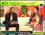Utho Jago Pakistan With Sanam jung & Ahsan khan - 1st March 2013 - Part 2