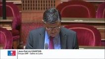 Jean-Patrick Courtois, Sénateur de la Saône-et-Loire : Distinction entre les budgets des transports publics et des transports scolaires