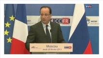 Les blagues de Hollande et Poutine en Russie