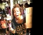 MANIFESTATION DES FEMMES REFUGIEES IVOIRIENNNES AU TOGO CONTRE LA FAIM