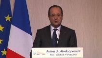 Discours de clôture des Assises du développement et de la solidarité internationale