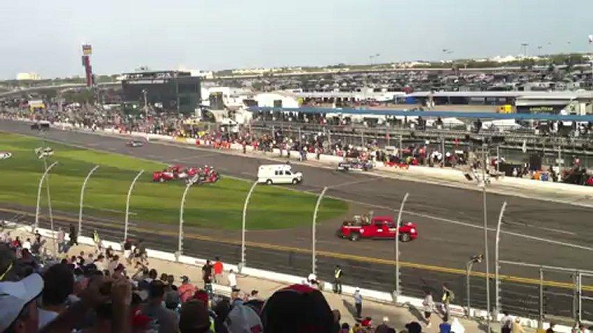 CRASH NASCAR DAYTONA