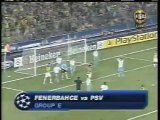 2005 (September 28) Fenerbahce (Turkey) 3-PSV Eindhoven (Holland) 0 (Champions League)