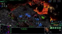 Starcraft 2 Replay - Gameplay Terran vs Zerg realy good game