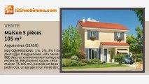 A vendre - maison - Ayguesvives (31450) - 5 pièces - 105m²