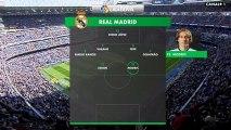 Real Madrid - FC Barcelona  Alineaciones