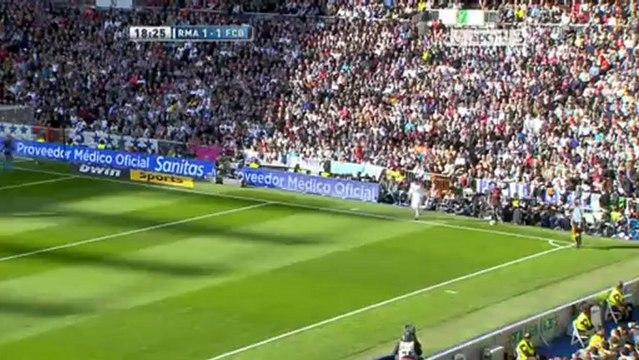 La Liga : Real Madrid CF vs FC Barcelona  2-1