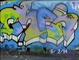 Minneapolis Wall Graffiti '93 - 94