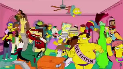 Harlem Shake de Los Simpsons