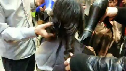 Kiểu tóc lá uốn xoăn vểnh ngược 2013 dạy học uốn tóc xoăn nghệ thuật Korigami 0915804875