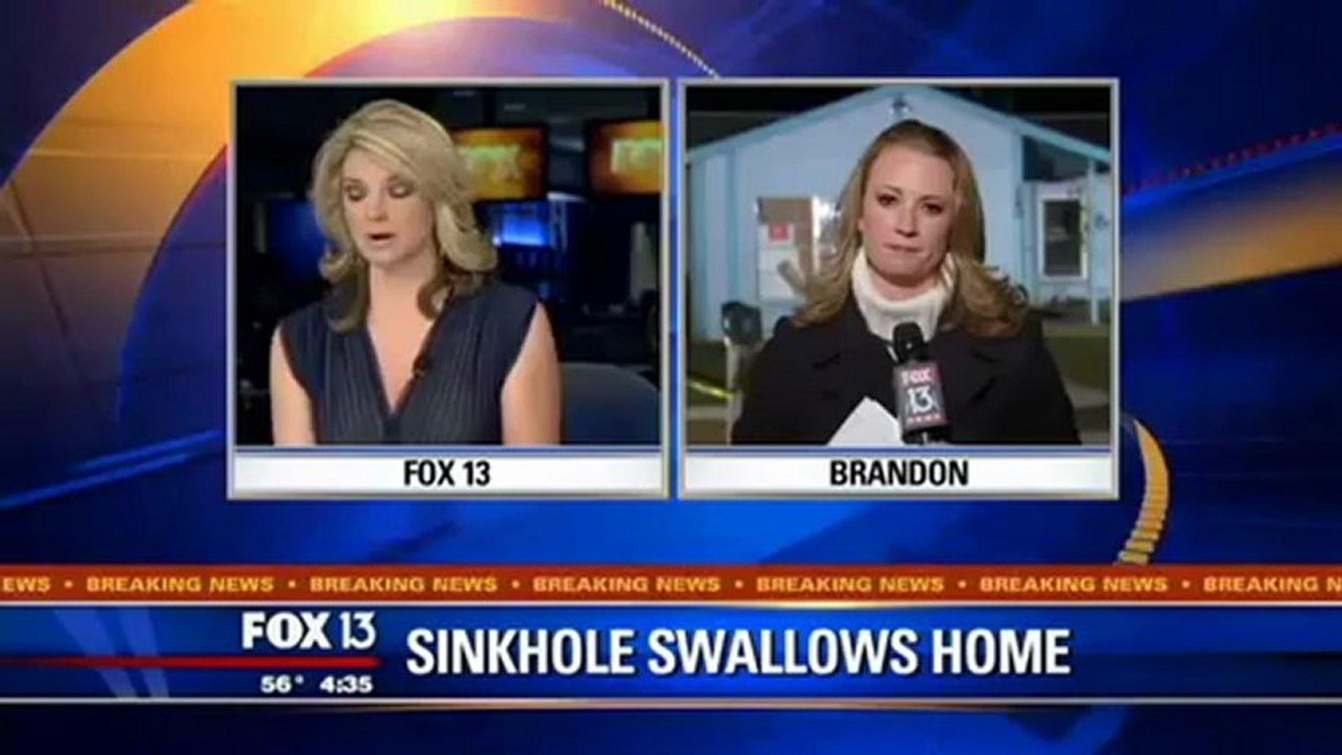 Sinkhole Swallows Florida Man