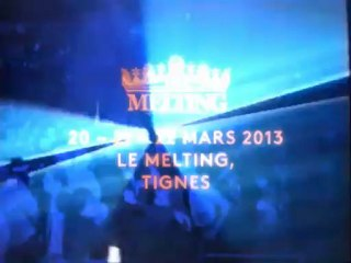 Teaser 3ème Backyard Music Sessions 20, 21 & 22 Mars 2013, Tignes, Club Le Melting