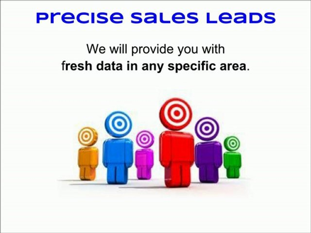 Use Precise Sales Leads Consumer Data for Direct Marketing and Sales