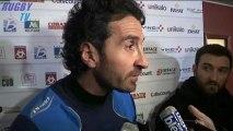 Rugby -Top14 - Bordeaux-Agen. Les interviews d'après-match.