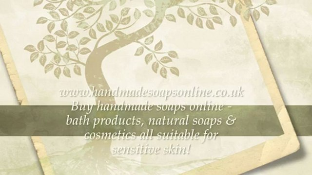 Buy Handmade Soaps Online. The Best Online Handmade Soaps UK.