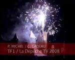 Feu d'artifice du 14 juillet à Carcassonne