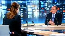 Jean-Pierre Pernault félicite Carla Bruni-Sarkozy