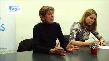 1ere PARTIE.  Leçon de cinéma avec Emilie DELEUZE, sur les différences et les pratiques de la production de film pour le cinéma et pour la télévision.