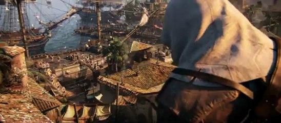 Assassin's Creed 4 : Black Flag, premier trailer mondial
