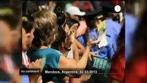 Grape Harvest Festival kicks off in Mendoza - no comment