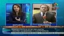 Colombia: empresarios del café dialogarán con campesinos