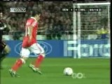 2007 (November 28) Benfica (Portugal) 1-AC Milan (Italy) 1 (Champions League)