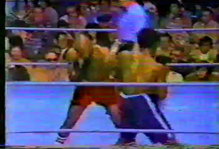 Marvin Hagler vs Doug Demmings 1978-04-07