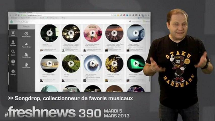 freshnews #390 Evleaks révèle le Galaxy S4, ThePirateBay, Songdrop (05/03/2013)