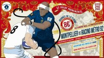 La boite à gifles du Montpellier Hérault Rugby - Episode 14 Saison 3 : Racing 08/03/2013