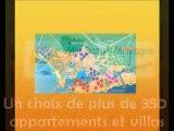 Location Vacances CAP D'AGDE Mer Océan Montagne Video immozip