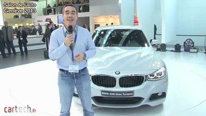 Genève 2013 : BMW série 3 GT