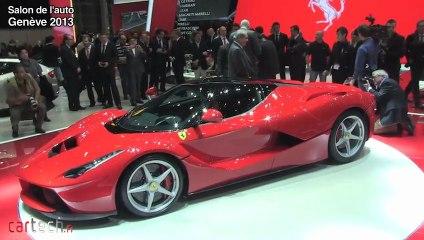 Genève 2013 : La Ferrari qui s'appelle LaFerrari