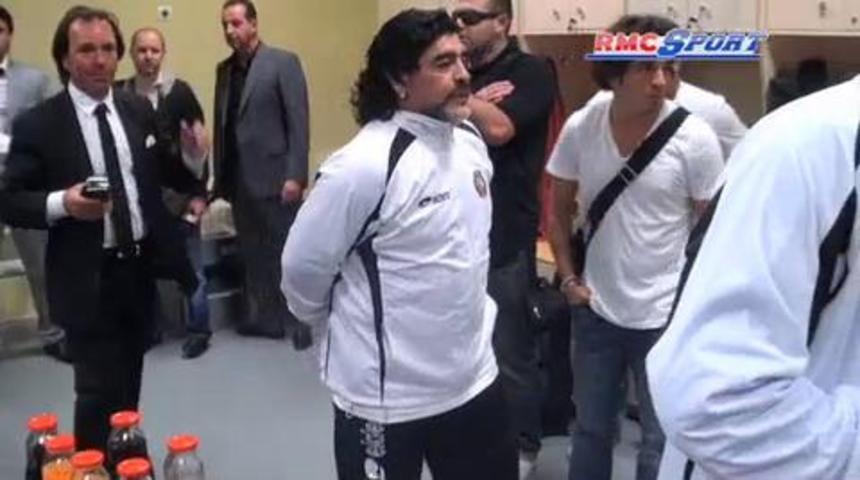 Maradona prêt à étudier une proposition pour entraîner Montpellier 05/03