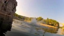 Petit saut dans l'eau :-)