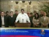 """Nicolás Maduro: """"Ha fallecido Hugo Chávez Frías"""""""