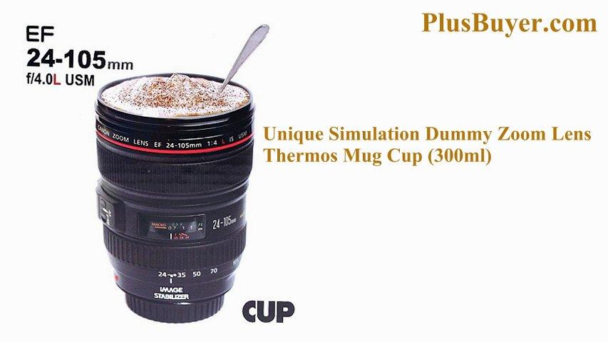 Unique Simulation Dummy Camera Lens Mug (300ml)