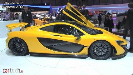 Genève 2013 : McLaren P1
