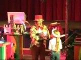 spectacle pour enfant  CLOWN MAGICIEN Mortagne au perche 61 spectacle.magie-clown-monsieur-tempo.com