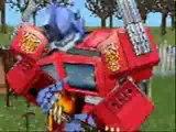 sims 2 - Optimus Prime - qui de nous deux par Jacky Fong