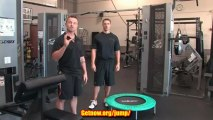 Mini Trampoline Exercise  How to Use a Mini Trampoline for Exercise