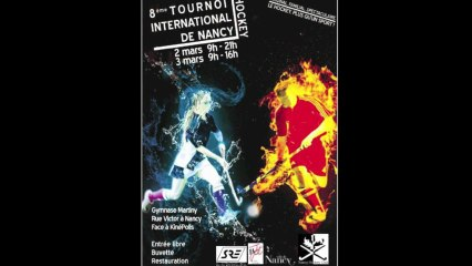 VIIIème Tournoi International de Hockey de Nancy les 2 & 3 mars 2013