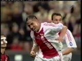 2003 (April 23) AC Milan (Italy) 3-Ajax Amsterdam (Holland) 2 (Champions League)