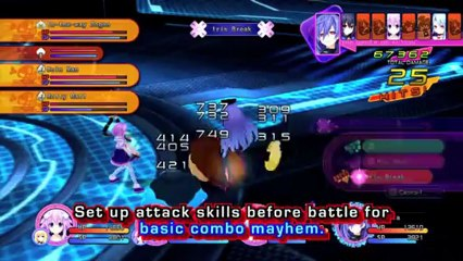 CPU Form Special Attacks de Hyperdimension Neptunia Victory